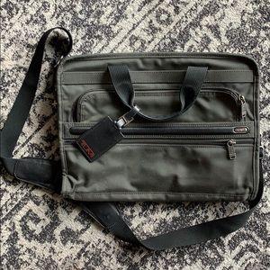 Gently used TUMI laptop bag